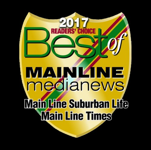 2017 'Best of Main Line' Readers' Choice Award